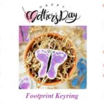 Foot Print Keyring
