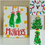 Kids Christmas Crafts Mistletoes