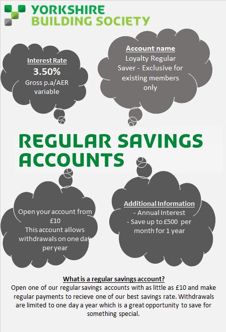 Regular Saving Account